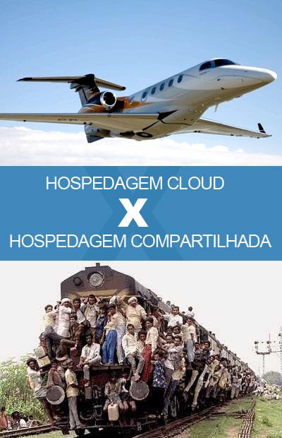 Cloud vs compartilhado